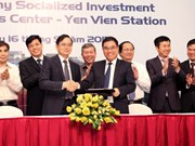 Deal inked on Yen Vien logistics centre project