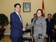 Cabinet leader welcomes Cuban Minister of Finance
