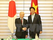 Party chief sends thank message to Japanese PM