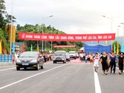 Lao Cai launches 7th bridge crossing Red River