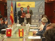 Vietnam, Spain ink legal assistance treaty in criminal matters