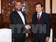 President meets outgoing Iranian Ambassador