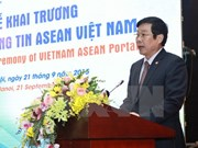ASEAN Vietnam portal launched in Hanoi