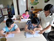 Quang Ngai seeks help in integrated education for disabled children