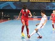 Vietnam lose second match at AFC futsal