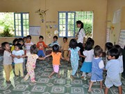 Belgian organisation helps Quang Nam improve pre-school education