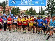 Mountain marathon proceeds go to good cause