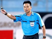 Tri named Vietnam's best referee of the season
