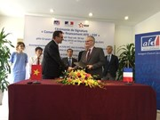 FDA, EDF IN sign pact in Hanoi