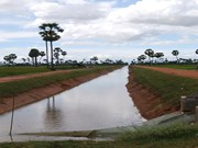 ADB approves 60 mln USD loan for Cambodia's irrigation development