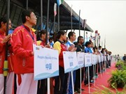 Vietnam places seventh in Asian Rowing Championships