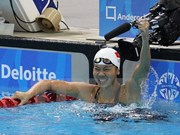 Swimmer Vien obtains three gold medals at Asian champs