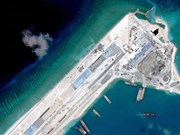 US to patrol near East Sea islands illegal built by China