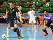 Vietnam lose to Australia at ASEAN futsal tourney
