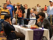 Liem takes second place at Millionaire Chess Open
