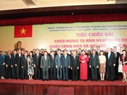 Gathering reviews Vietnam's development efforts