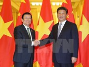 State President meets Chinese leader