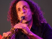Saxophonist Kenny G performs in Hanoi