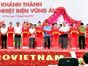PM attends Vung Ang 1 thermo-power plant inaugural ceremony