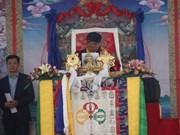 12th Gyalwang Drukpa prays for peace, fallen soldiers in Tay Ninh