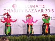 Vietnam joins charity fair in Singapore
