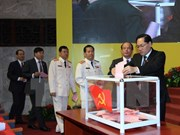 Hanoi Party Committee's Standing Board has four females