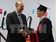 Int'l degrees granted to Vietnam-Germany University graduates