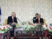 Icelandic President visits Ho Chi Minh City