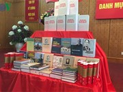 Books on Vietnamese Party and leaders make debut