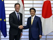 Japan, Netherlands share concern over East Sea tensions