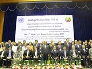 Laos opens round-table meeting to boost development
