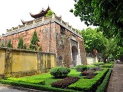 Australia helps Vietnam preserve Thang Long Royal Citadel