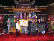 Ha Nam: Tran Thuong Temple named special national relic site