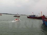 Vietnamese fishing boat sunk in Hoang Sa archipelago