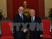 Party chief receives Chairman of Communist Party USA