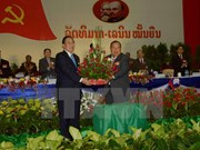 New top leaders of Laos named