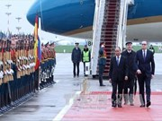 Prime Minister arrives in Moscow for Russia visit
