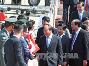 PM arrives in Nagoya for Japan visit