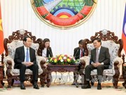 Lao leaders hail significance of Vietnamese President's State visit