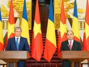 Vietnam Romania issue Joint Declaration