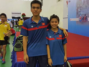 Vietnam bag another table tennis silver