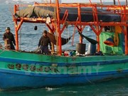 Thai police seize four Vietnamese fishing boats