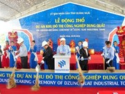 Work begins on Dung Quat project in Quang Ngai