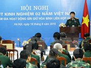 Vietnam actively joins UN peace-keeping activities