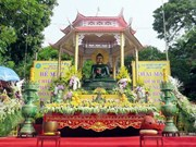 Jade Buddha statute conveys peace message in Vinh Phuc province