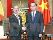 President applauds Wallonie-Bruxelles's cooperation with Vietnam