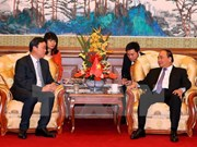 PM urges Chinese firm to hasten Hanoi's railway building