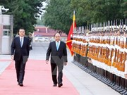 First day of official visit to China by PM Nguyen Xuan Phuc
