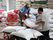 Rice shipments drop in nine months