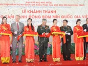 Headquarters of national mine action centre unveiled in Hanoi